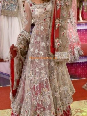 KASHEES LATEST Bridal Embroidered Net Collection Replica