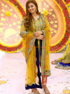 KASHEES Latest Embroidered Net Eid Collection Replica 2018