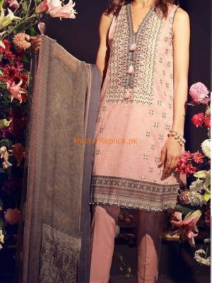 KHAAKHAADI Luxury Embroidered Lawn Collection Replica 2018DI Luxury Embroidered Lawn Collection Replica 2018