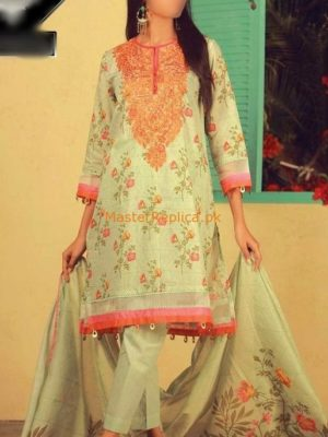 KHAADI Latest Embroidered Summer Eid Lawn Collection Replica