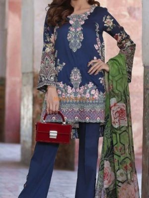 Khaadi Luxury Embroidered Summer Lawn Collection Replica