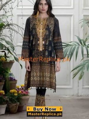 Khaadi Latest Embroidered Lawn Eid Collection Replica 2018