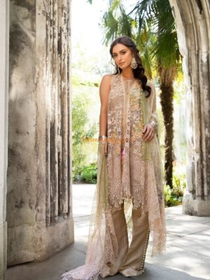 MARIA B Luxury Embroidered Chiffon Collection Replica 2018