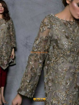 MARIA B Luxury Embroidered Net Eid Collection Replica