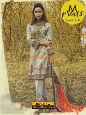 Maria B Luxury Embroidered M Prints Lawn Collection Replica