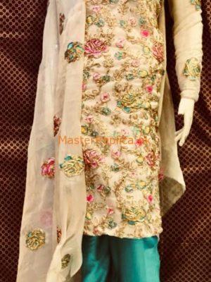 Master Replica Latest Embroidered Maysorie Fabric Collection 2018 Replica