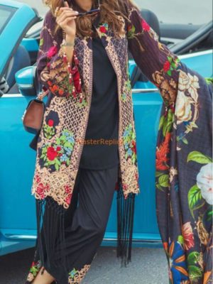 RANGRASIYA Luxury 1012 B Embroidered Lawn Collection Replica