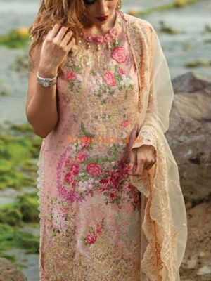 RANGRASIYA Latest Embroidered Eid Lawn Collection Replica