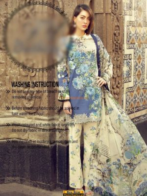 RUNGREZ Latest Embroidered Summer Lawn Collection Replica