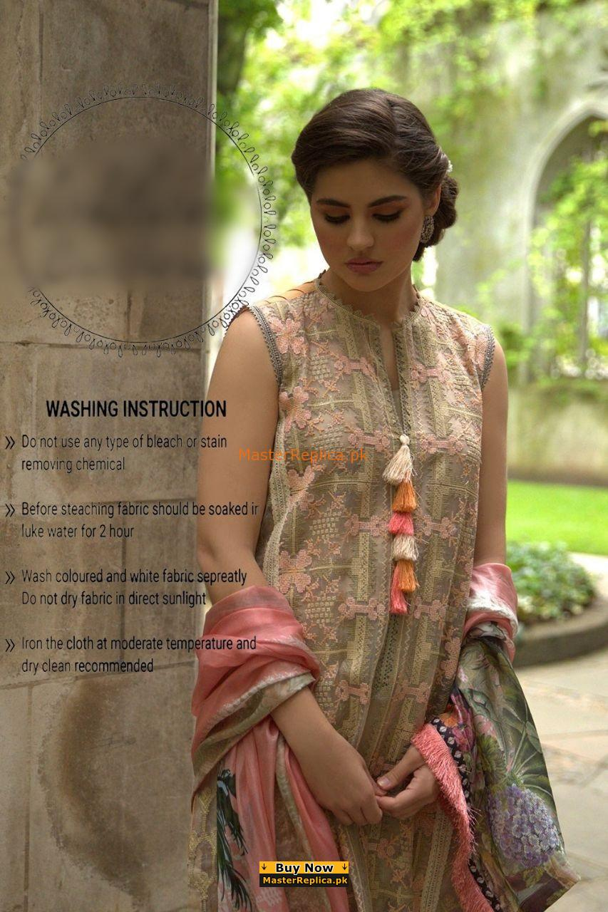 Sobia Nazir Latest Embroidered Net Collection Replica