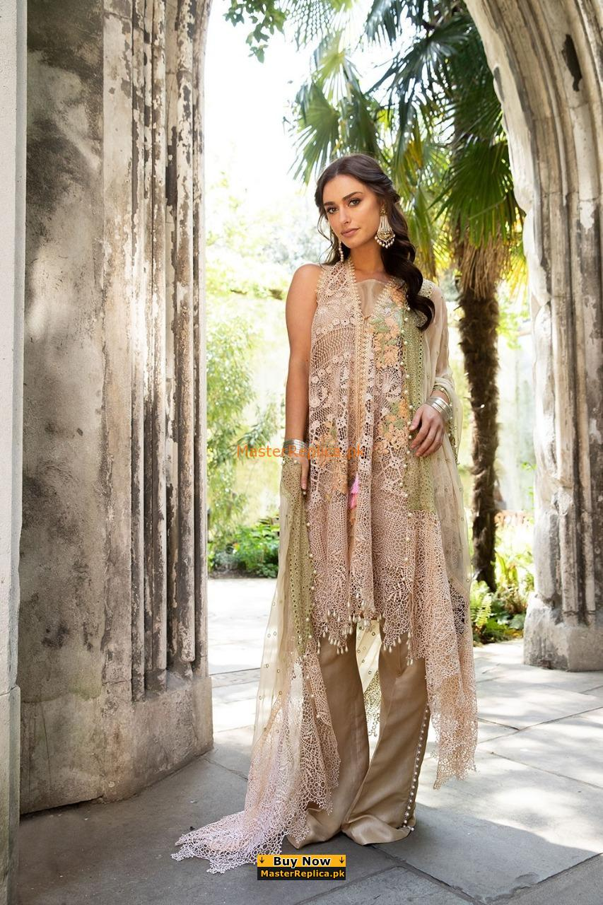 SOBIA NAZIR Luxury Embroidered Lawn Eid Collection Replica