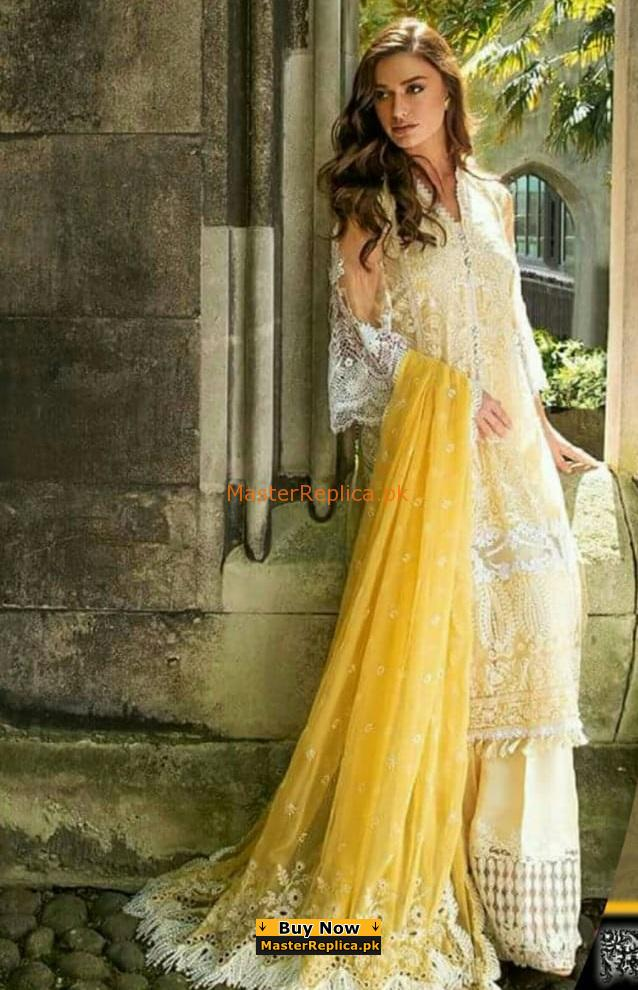 SOBIA NAZIR Latest Embroidered Lawn Eid Collection Replica