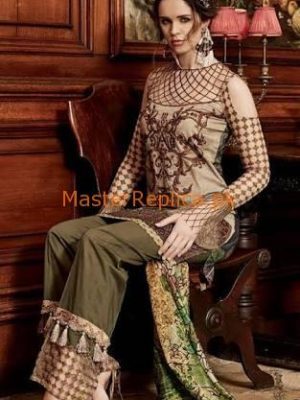 TABASSUM MUGHAL Latest Embroidered Summer Lawn Collection Replica