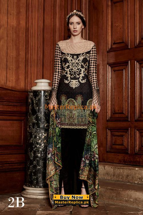 TABASSLUM MUGHAL Luxury 2-B Embroidered Summer Lawn Collection Replica