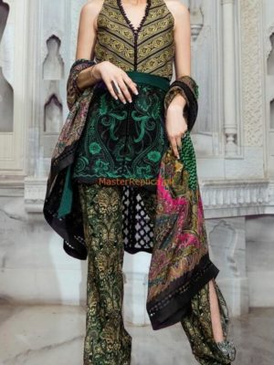 TENA DURRANI Luxury Embroidered Lawn Collection Replica 2018