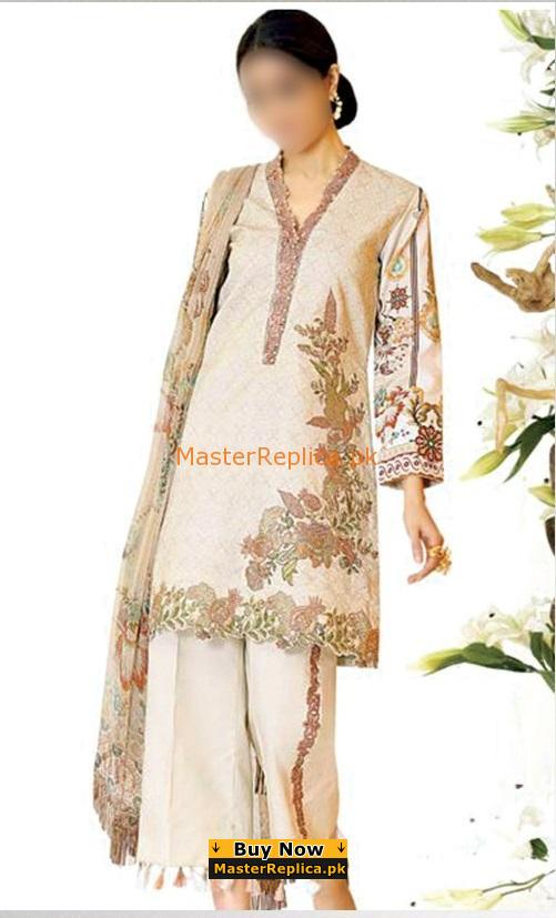 ZARQASH Luxury Embroidered Summer Lawn Collection Replica
