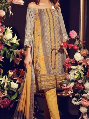 JAZMINE Latest Embroidered Lawn Eid Collection Replica