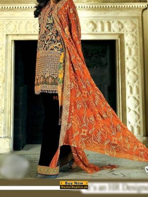 ASIM JOFA Luxury Embroidered Cotton Collection Replica