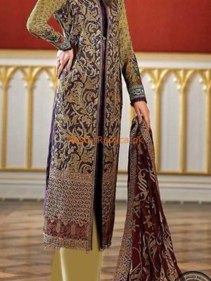 ASIM JOFA Latest Embroidered Cotton Collection Replica 2018