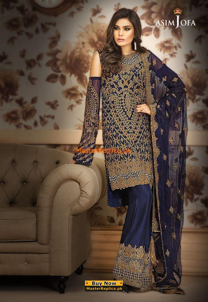 ASIM JOFA MYSORIE AJ-01 CHIFFON COLLECTION REPLICA