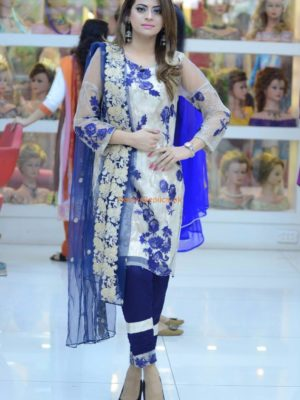 BANITA DAVID Luxury Embroidered Summer Lawn Collection Replica