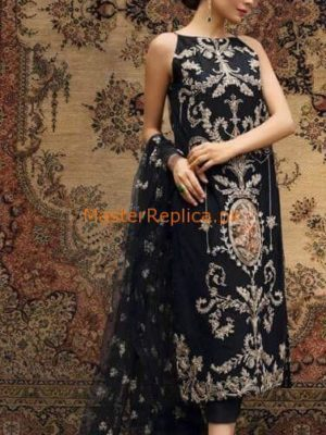 BAREEZE Luxury Embroidered Summer Lawn Collection Replica
