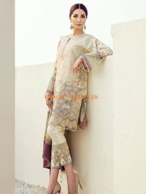 BAROQUE Luxury BL-06 Angelica Embroidered Lawn Collection Replica