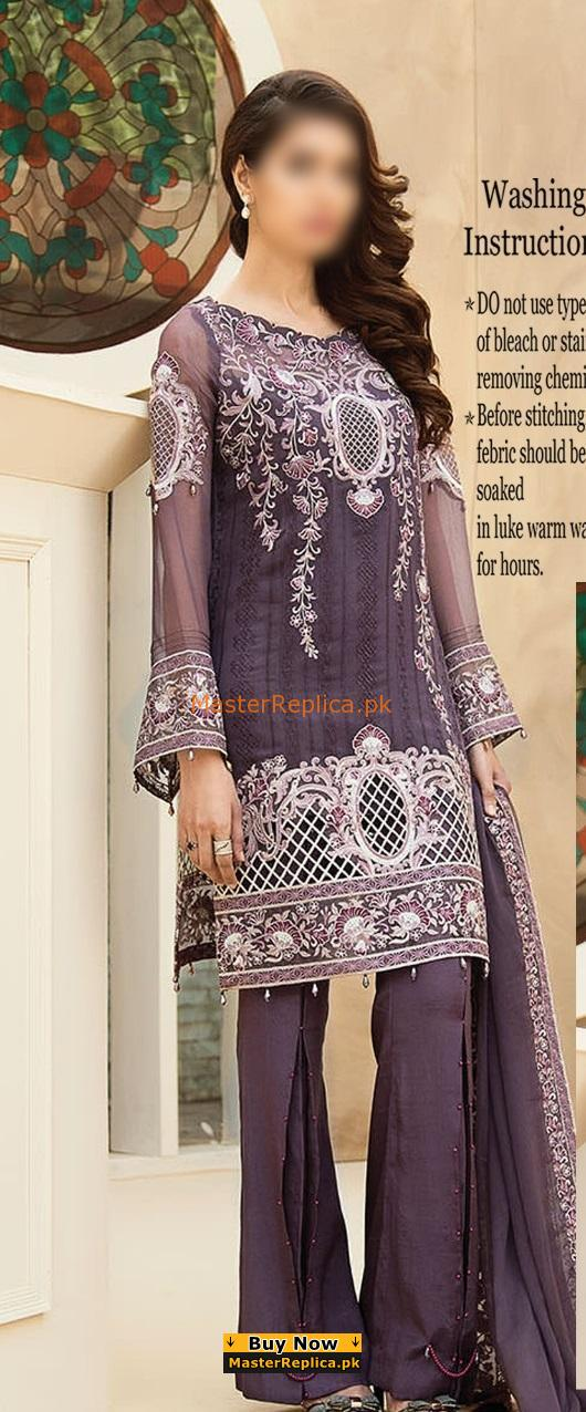 BAROQUE Luxury Embroidered Summer Lawn Collection Replica