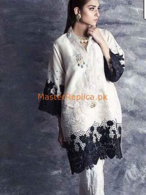 BISMA Luxury Elegant Embroidered Chiffon Collection Replica