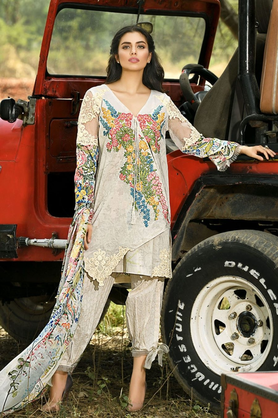 FIRDOUS Luxury Eid Carnival 2018 Embroidered Lawn Collection Replica