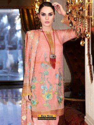 GUL AHMED Latest Embroidered Chiffon Collection Replica