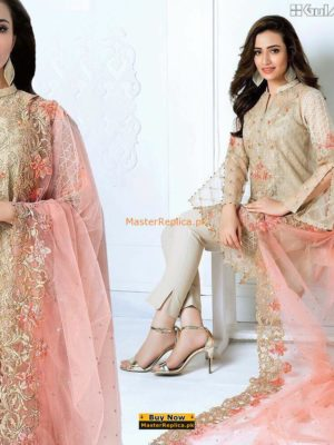 GUL AHMED Luxury Embroidered Net Collection Replica