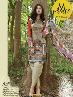 MARIA B Latest Embroidered M Print Summer Lawn Collection Replica