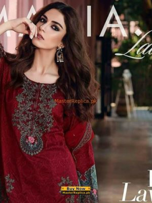 MARIA B Luxury Embroidered Eid Lawn Collection Replica