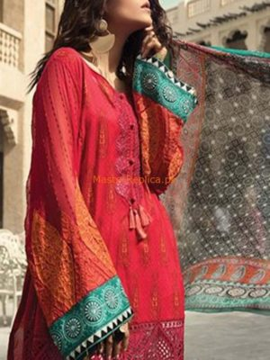 MARIA B Luxury Embroidered Summer Lawn Collection Replica