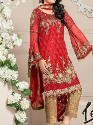 MARYAM Latest Embroidered Chiffon Collection Replica