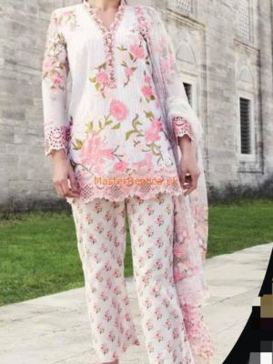 MINA HASSAN Latest Festive Embroidered Net Collection Replica