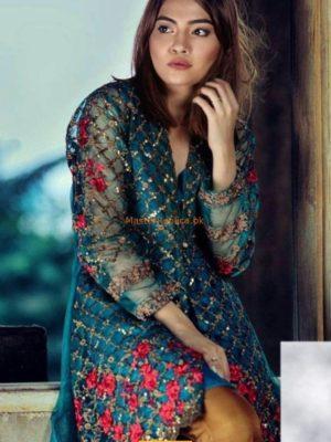 NAKOOSH Luxury Embroidered Eid Net Collection Replica