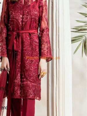 REPUBLIC WOMEN'S WEAR EMBROIDERED NET COLLECTION 2018 MASTER REPLICA