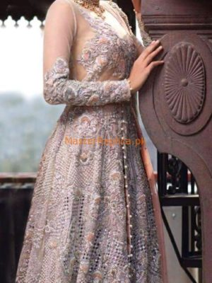 SANA SAFINAZ Latest Embroidered Net Collection Replica 2018