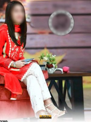 SHAISTA LODHI Luxury Embroidered Lawn Collection Replica