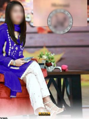 SHAISTA LODHI Latest Embroidered Summer Lawn Collection Replica