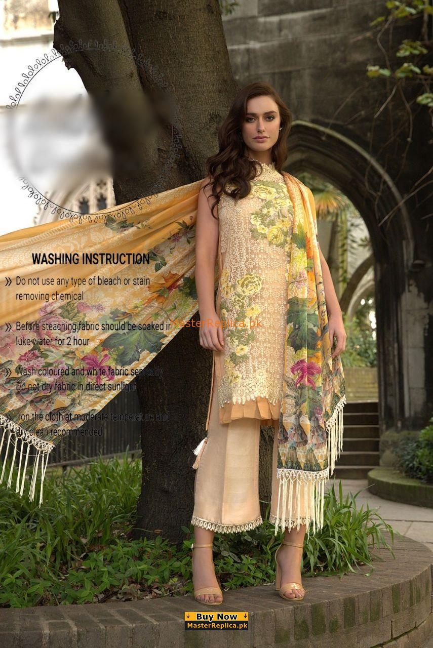 SOBIA NAZIR Luxury Embroidered Net SOBIA NAZIR Luxury Embroidered Net Eid Collection Replica Eid Collection Replica