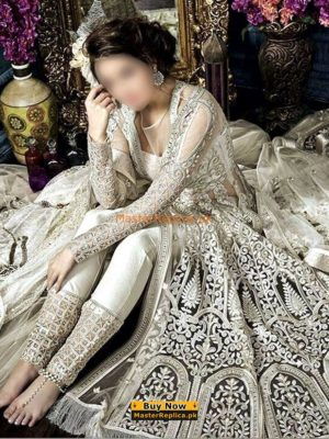 ZOYA Luxury Festive Embroidered Bridal Net Collection Replica