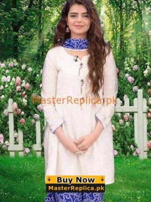 WAJIHA KHAN Luxury Embroidered Summer Lawn Collection Replica