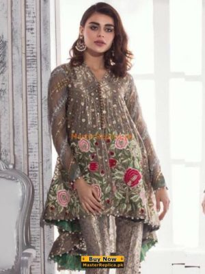 ANNUS ABRAR Luxury Embroidered Net&Organza Collection Replica