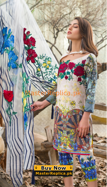ASIFA & NABEEL Luxury 4A – Childhood Memories Embroidered Lawn Collection Replica