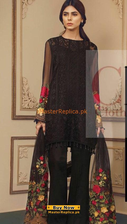 BAROQUE LATEST EMBROIDERED SUMMER LAWN COLLECTION REPLICA
