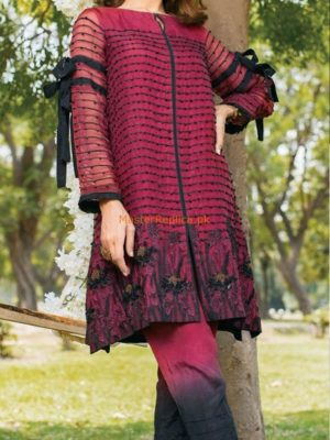 CHARIZMA Luxury Embroidered Eid Net Collection Replica