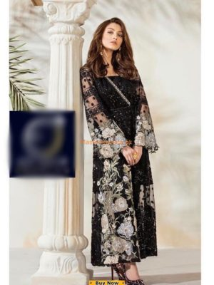 Crimson Luxury Embroidered Eid Net Collection Replica